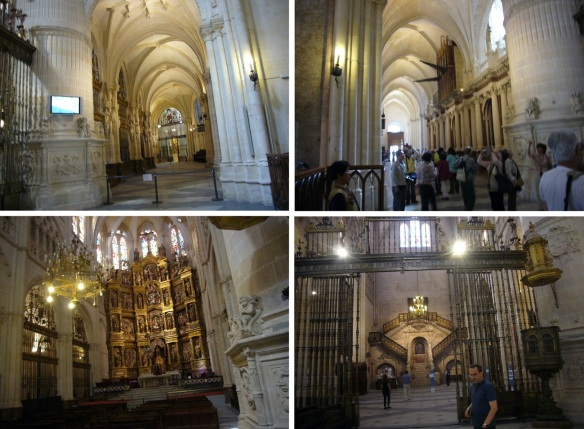 Interior of the Catedral de Santa María