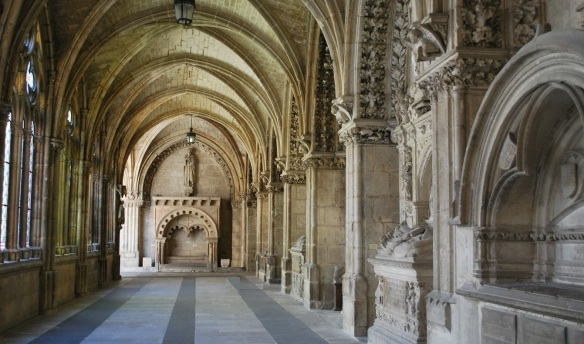 Cloister of Cathedral Burgos