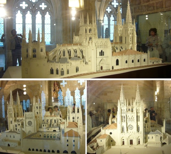 The minitatures of the Burgos Cathedral.