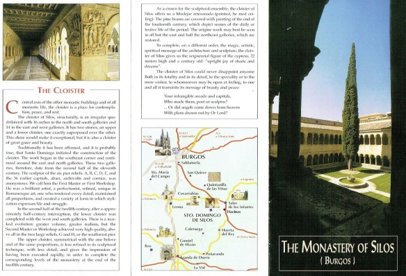 Brochure, the Monastery of Silos