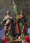 Statues of Saints Facundus and Primitivus