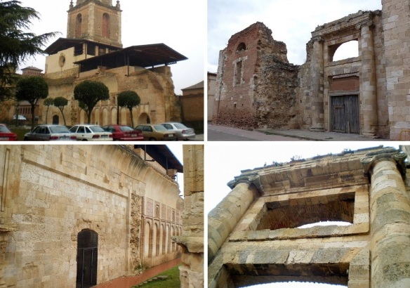 Ruins of San Benito Monastery Sahagún (Photos from buddies)
