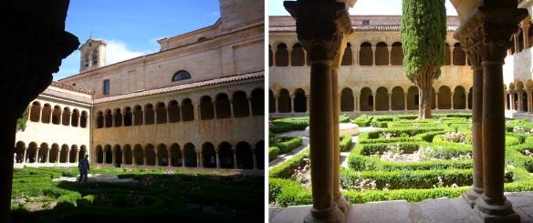 Splendid courtyard of the Monastery