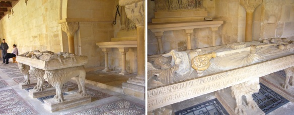 First tomb of St. Dominic
