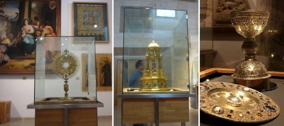 The exhibits of St. Dominic of Silos Abbey