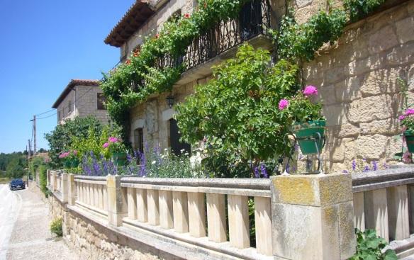 The village of Santo Dominguo de Silos