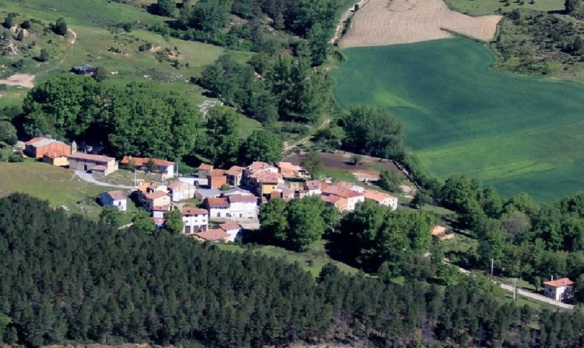 The Village of Hinojar de Cervera.