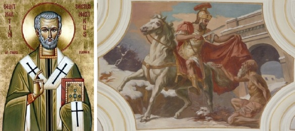 St. Martin of Tours and the Legend of Martin's cloak.