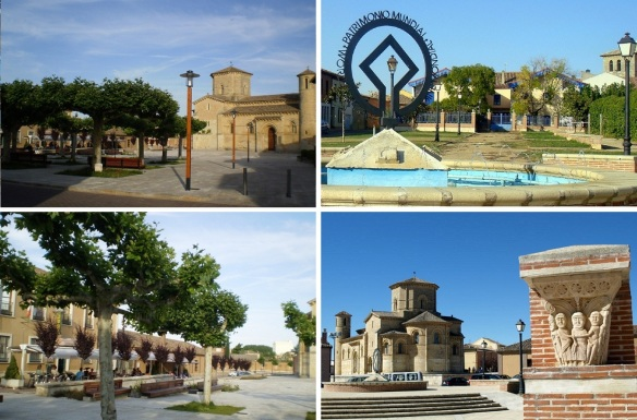 Photos of the Plaza de San Martín, the square is the center of Frómista and the busiest area of the city.