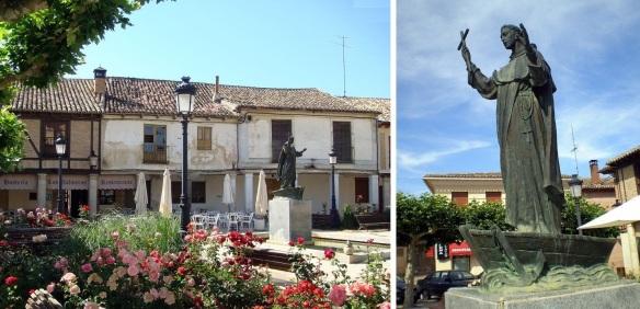 Statue of Pedro González Telmo, Plaza de San Pedro Frómista