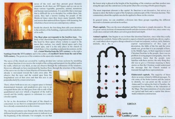 Brochure of Iglesia de San Martín