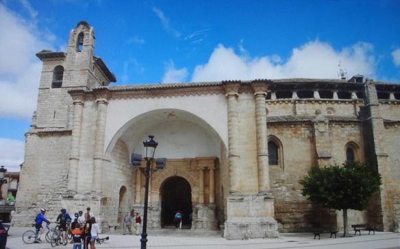 Iglesia de San Pedro, the most distinctive feature is its Renaissance façade.