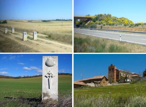 Photos on the Way of St.James from Frómista to Sahagún