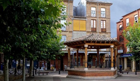 The Plaza Mayor de Sahagún.
