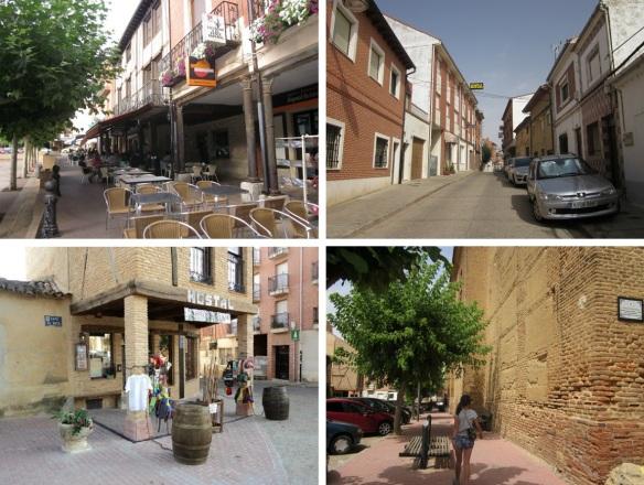 Streets of the old town Sahagún