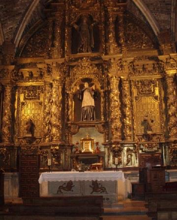Altar of St. Martin, San Isidoro Leon