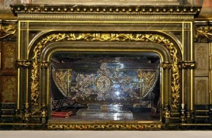 Grave of St. Isidore of Seville