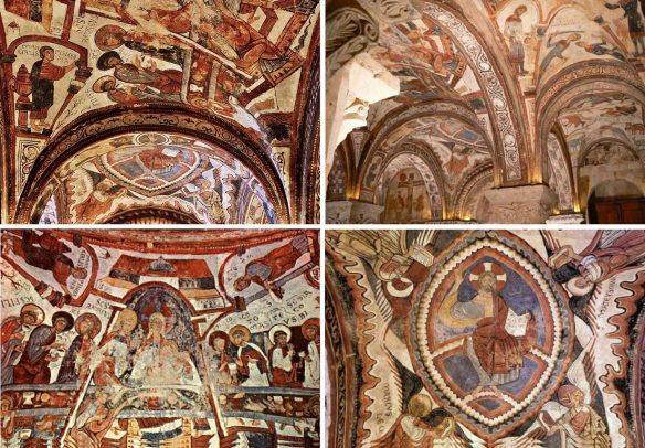 Ceiling paintings of the Royal Pantheon, San Isidoro