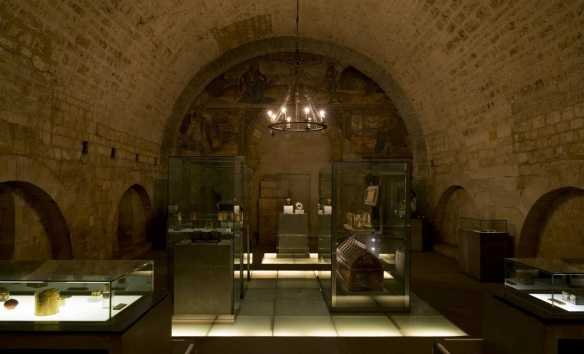 Treasure house of Museum of San Isidoro Leon