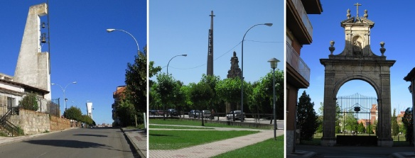 Photos on the way to Basilica of La Virgen del Camino