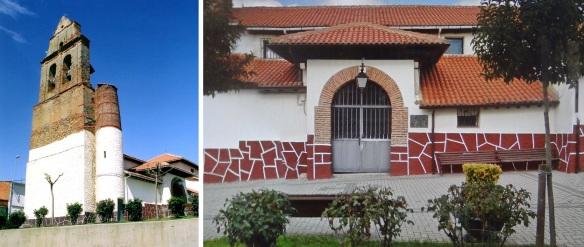 """""""Iglesia de Santiago Apóstol,"""" Parish church of Villadangos del Páramo"""