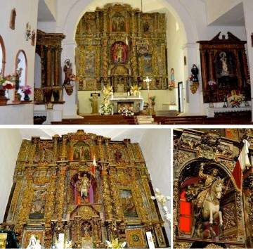 Altarpiece of the Iglesia de Santiago Apóstol