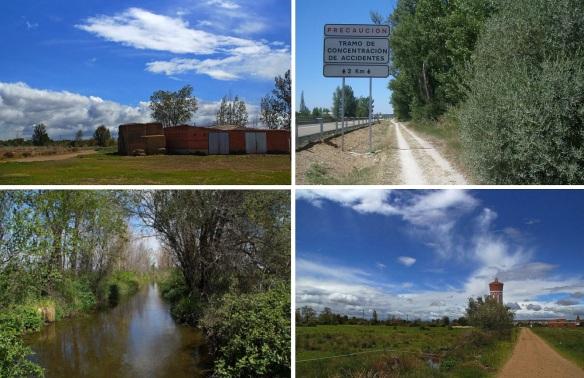 Scenery, from San Martín del Camino to Hospotal de Orbigo