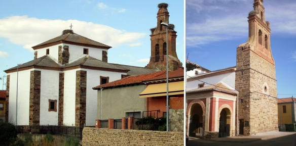 Parish church of Our Lady on the street of Calle Constitución, Hospotal de Orbigo