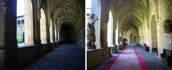 Cloister of ground floor, parador San Marcos