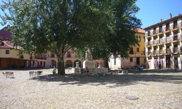 Plaza de Santa Maria del Camino