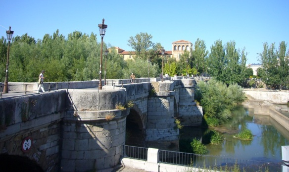 Roman Stone Bridge over Rio Bernesga