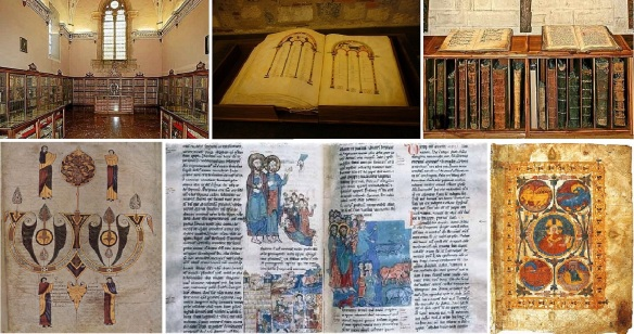Library of the San Isidoro Museum Leon