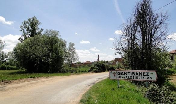 Arrived at Santibanez de Valdeiglesias