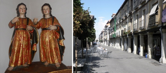 Saints Justus and Pastor, Christian martyrs and the Spanish city of Alcalá de Henares today