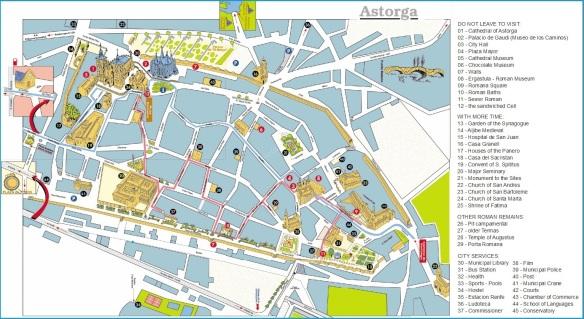 Map of Astorga