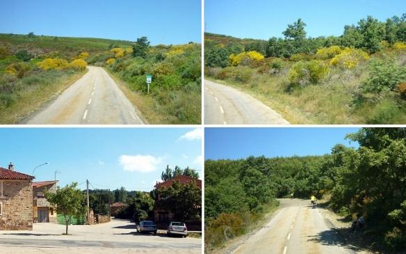 Scenery on the way to Foncebadón