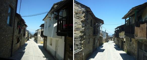 Walking through the really narrow street
