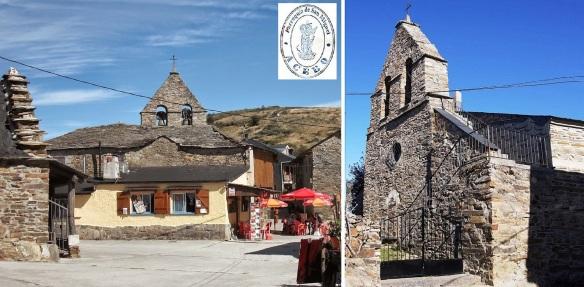 Plaza de Iglesia and Parish church Holly San Miguel of El Acebo