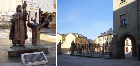 Plaza Virgen de la Encina Ponferrada