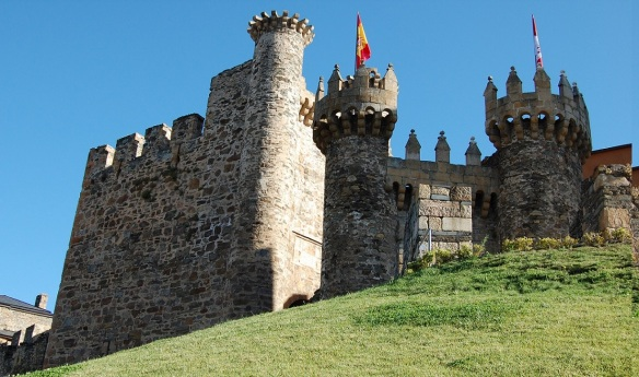 Ponferrada Castle of the Templars