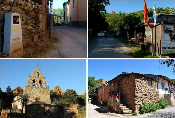 Views of the village, Las Medulas.