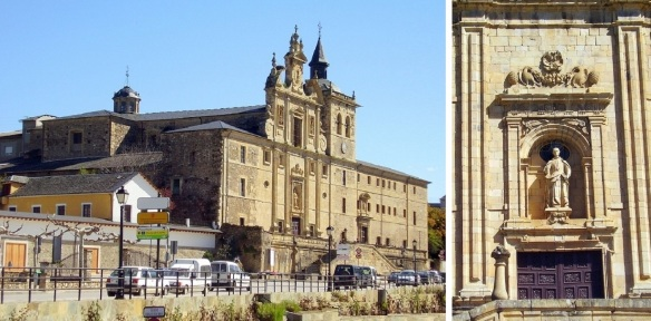 La iglesia-convento de San Nicolás (The church convent of San Nicolas) and the Façade