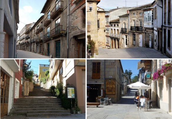 Townscapes of Sarria. Walking around the town at random.
