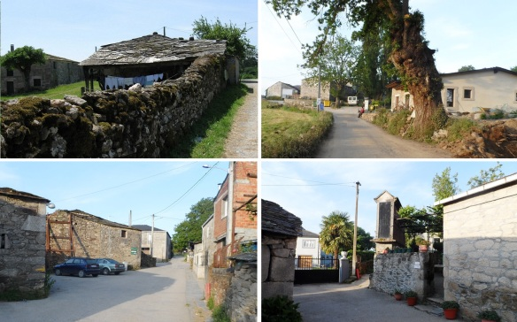 Left Sarria, for approximately one hour, passing through the first village Barbadelo.