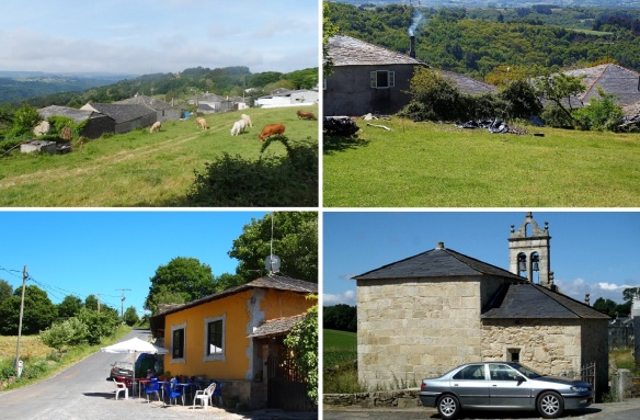 Next village Ferreiros, the population is 65, the main industry is stock‐farming, and Parish Church of San Salvador.