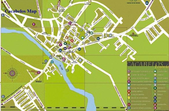 Cacabelos Map