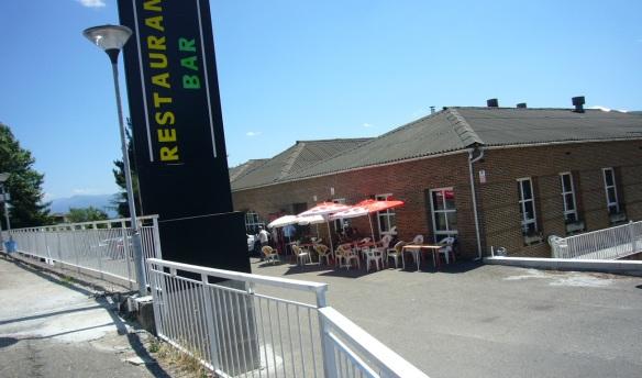 The restaurant La Charola Hostal Villafranca del Bierzo