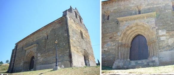 Iglesia de Santiago Apóstol (St. James Church) and Its Door of Forgiveness.