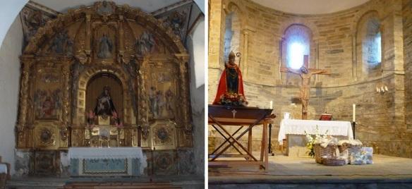 Interior of the iglesia de Santiago, Villafranca del Bierzo.