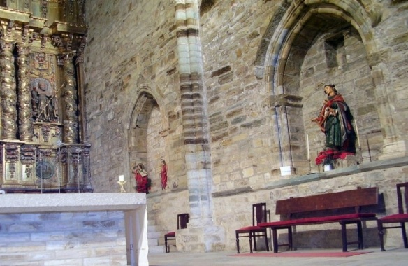 Inside of the Iglesia de San Francisco, Villafranca del Bierzo.